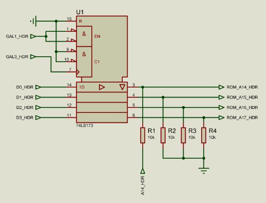 Register schematic