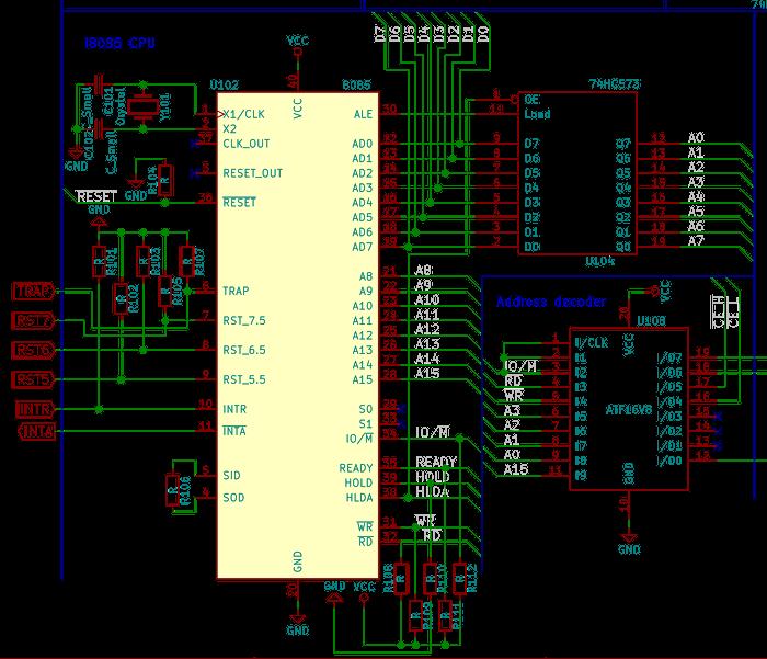 CPU KiCAD